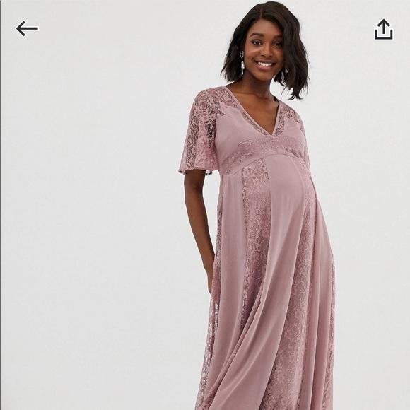 ASOS DESIGN Maternity Maxi Dress Sz 6